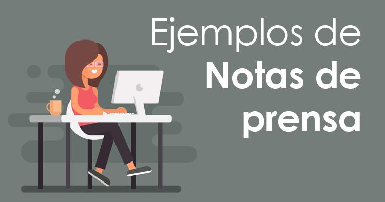 Notas De Prensa De Ejemplo Los Elementos Imprescindibles